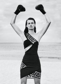 visual optimism; fashion editorials, shows, campaigns & more!: edita vilkeviciute by collier schorr for flair #17 may 2015