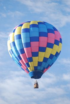 someday: I'll ride in one and I'll go to the hot air balloon festival in Albaquerque