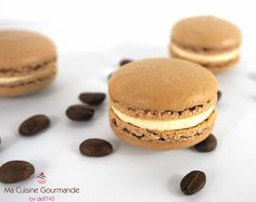 Macaron Café, Cooking Chef, French Food, Mini Desserts, Food Art, Biscuits, Bakery, Cheesecake, Gluten