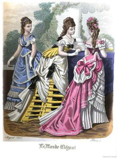Le Monde Elégant 1875 August