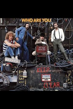 ☮ American Hippie Music Album Cover Art ~ The Who .. Who Are You