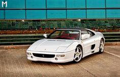 Ferrari F355 GTS. Love the white. Not the red. A-