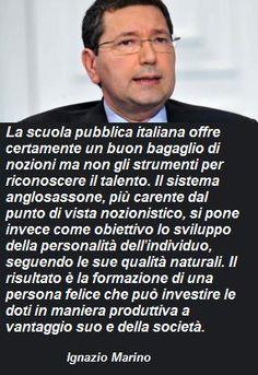 Ignazio Marino dixit