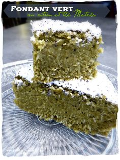 Fondant Citron & Thé Vert Matcha Tea Recipes, Sweet Recipes, Cake Recipes, Dessert Recipes, Sweet Desserts, Easy Desserts, Sin Gluten, Flan, Chocolate Tea Cake