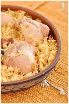 como fazer galinhada