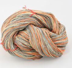 Silk Cloud Silk Yarn: Grays to Peach
