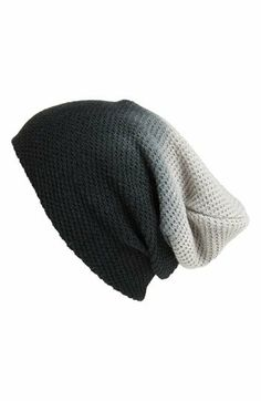 BP. Ombré Waffle Knit Beanie (Juniors) | Nordstrom // winter hat