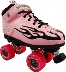 Rock Flame Outdoor Skates with Sonic Wheels  $139.00    www.skateoutloud.com