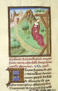 Medieval Manuscript Images, Pierpont Morgan Library, Livre des cleres et nobles femmes. MS M.381 fol. 9v