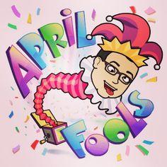 #aprilfools #bitmoji