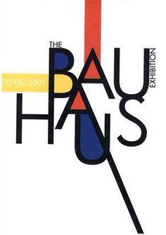 in the style of De Stijl / Piet Mondrian. Bauhaus Logo, Bauhaus Art, Bauhaus Style, Bauhaus Design, Piet Mondrian, Poster Fonts, Typography Poster, Graphic Design Typography, Poster Text