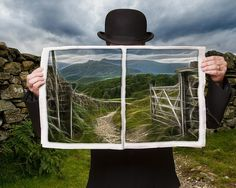 """""""Magritte""""   Photograph by Alan Sheers, 2010"""