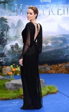 Angelina Jolie na première de 'Malévola' em Londres