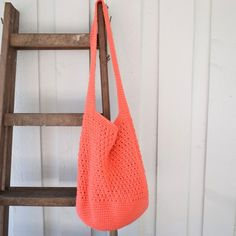 Crochet Granny, Knit Crochet, Shopper, Slow Fashion, Diy And Crafts, Tote Bag, Knitting, Fabric, Cotton