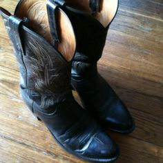 My boots (as seen in Fishbowl DC.)