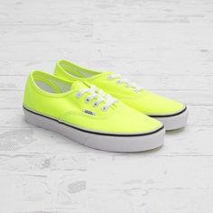 neon yellow by vans