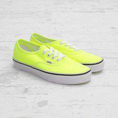 neon yellow by vans