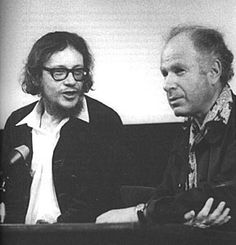 Jerzy Grotowski i Peter Brook
