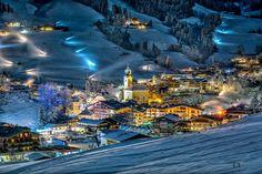 Top Lage, der Ferienwohnungen Hollin in Saalbach, nur wenige Gehminuten ins Zentrum