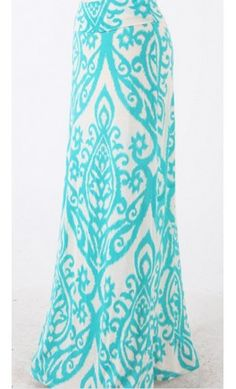 Candle Print maxi Skirt - Apostolic Clothing