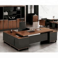 Manager office Furniture - president Office Buy Expensive Office Furniture,Modern Style Executive Desk,Melamine Office Desk Furniture Product on Alibaba com. Office Table Design, Home Office Table, Modern Office Desk, Office Furniture Design, Office Interior Design, Office Interiors, Cool Furniture, Wood Office Desk, Modern Office Furniture
