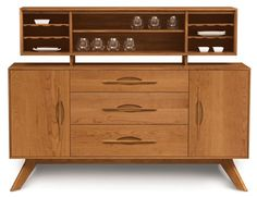 Midcentury-style Audrey sideboard range by Copeland Furniture at 2Modern