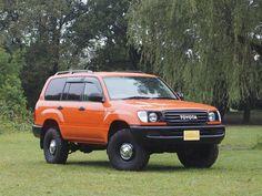ランクル100丸目換装 オレンジ Toyota Landcruiser100 UZJ100W