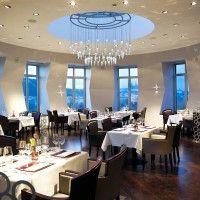 Bar in Dancing House of Celeste Restaurant, Prague