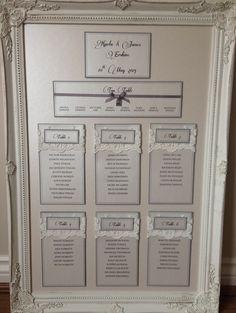 Plan De Table Mariage Chic Et Glamour