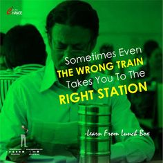 Sometimes Even THE WRONG TRAIN Takes You To The RIGHT STATION✌ğŸ Happy Today, Lunch Box, Train, Learning, Quotes, Quotations, Studying, Bento Box, Teaching
