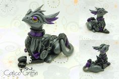 Griffin - Estrella serie - polymer clay by CalicoGriffin