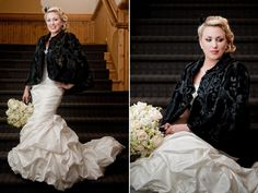 Matt Shumate Photography at Schweitzer Mountain winter wedding bride portrait
