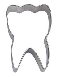 R&M Cookie Cutter, 3-Inch, Tooth, Tinplated Steel