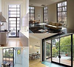 Steel Window/Door Resources.  The ever resourceful Julie from Remodelista did a great post about steel door and window fabricators.: