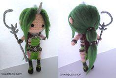 Amigurumi League of Legends : Dryad Soraka by Xaxipidudi.deviantart.com on @DeviantArt