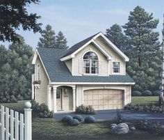 Carriage House plan - architecturaldesigns.com