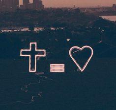 Cross = love