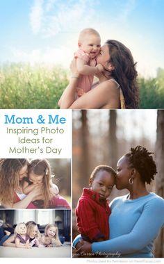 Inspiring Mom & Me Photo Ideas for Mother's Day via iHeartFaces.com