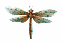 metal wall dragonfly