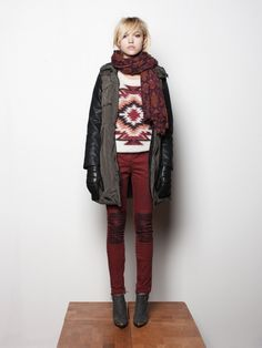 Maison Scotch A/W '12 look book