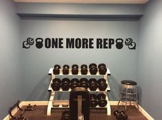 Basement Gym Ideas. EXCEL Gym Wall Decal by JandiCoGraphix on Etsy