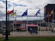 Saint John New Brunswick, Saints, Flag, Country, Art, Art Background, Rural Area, Kunst, Science