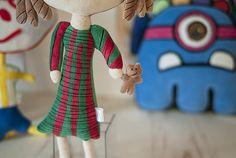 Atelier Bololofos - Somos os Bololofos, bonecos de pano feitos a partir de desenhos de crianças. Graziella Poffo e Udi Poffo #brinquedos #bonecos #criancas #desenhos #desenhoinfantil #handmade
