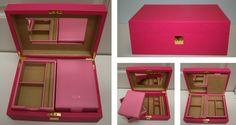 Smythson of Bond  Street Jewelry Box
