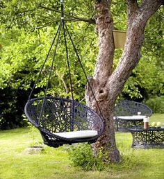 Wonderful hanging chairs