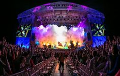 One of the best open air festivals of alternative music in Europe is coming! Air Festival, Alternative Music, Poland, Europe, Adventure, Concert, Music Festivals, Travel, Golf