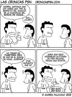 Crónica 1029: BOSÓN DE HIGGS #webcomic