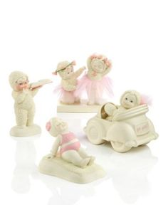 snow bunny figurines    Department 56 Collectible Figurines, Snowbabies Girlfriends Collection