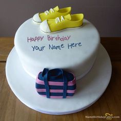 write name on Birthday Cake for Girls New picture