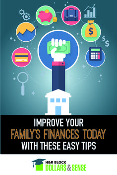 How to Improve Your Family Finances Today #money #tips